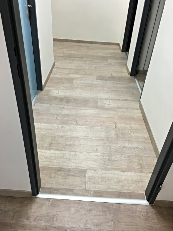Detailní pohled na podlahu