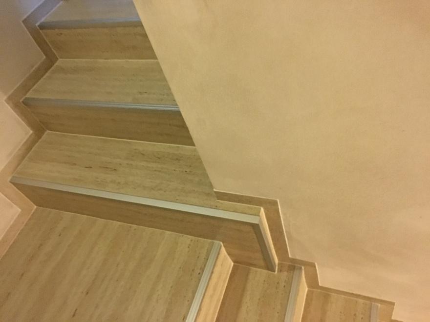 Bližší pohled na schody